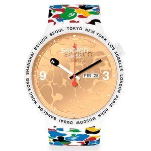 Swatch x BAPE TOKYO MultiCamo